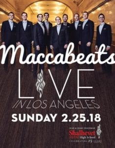 Maccabeats LIVE Convert @ Shalhevet High School Los Angeles, CA  | Los Angeles | California | United States