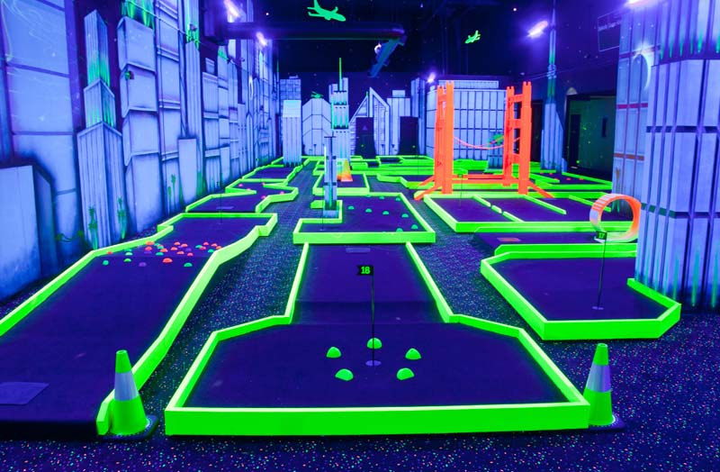 Indoor Mini Golf Long Beach Ca