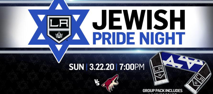 LA Kings Jewish Pride Night